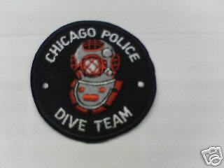Chicago Police dive team patch