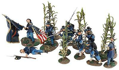 "Britains Soldiers US CIVIL WAR 31152 "" MILLERS'S CORNFIELD ""LIMITED EDITION"