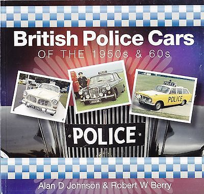 British Police Cars of the 1950s & 1960s by Johnson & Berry Lancashire Police