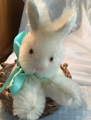 Annette Funicello Cream Mohair Collectible Bunny Or Rabbit For Easter
