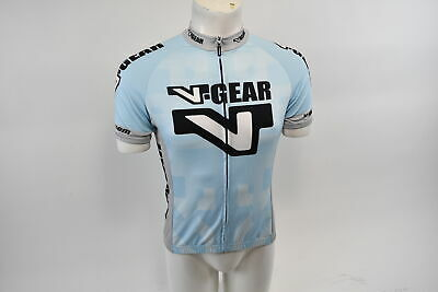 Verge V-Gear Men/'s Team AZimm Bike MS Short Sleeve Cycling Jersey Green M NOS