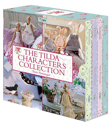 The Tilda Characters Collection: WITH Birds AND Bunnies - Hardcover NEW Finnange