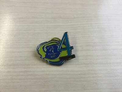 Metal Pin Badge Sydney 2000... 4 Days To Go