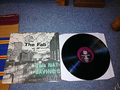 """The fall - this nations saving grace - 12""""lp 1985 a1/b1 ex.con/ex.con"""