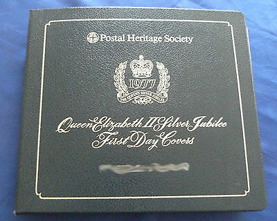Postal Heritage S Qn Elizabeth II Silver Jubilee First Day Covers Complete Album