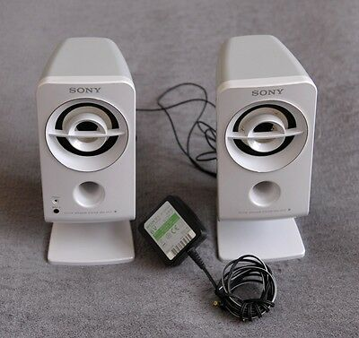 Sony SRS A212 Active Speaker System White 4.8W with Adapter