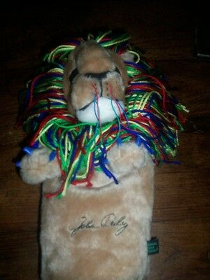 John Daly The Lion Golf Head Cover With Tag Cl93