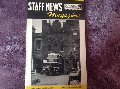 East Yorkshire Motor Services,staff News Magazine  1952