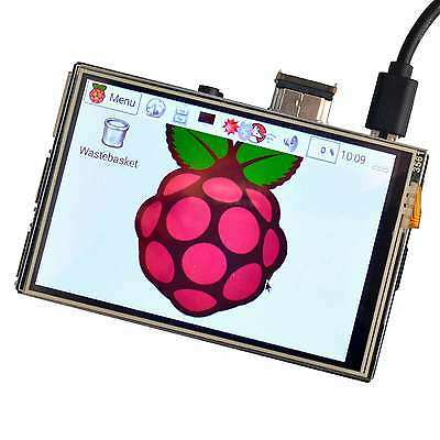 "3.5"" HDMI Touch Screen LCD Display for Raspberry Pi 3 2 Model B 1920x1080"