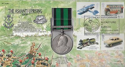 LWF34d The Ashanti Uprising 1900 With added Replica Ashanti Medal