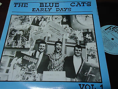 """THE BLUE CATS - Early Days Vol. 1 , LP 12"""" UK 1983 ROCKABILLY"""