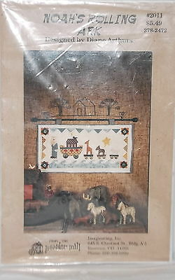 Noah's Rolling Ark Wall Hanging Quilt Pattern New