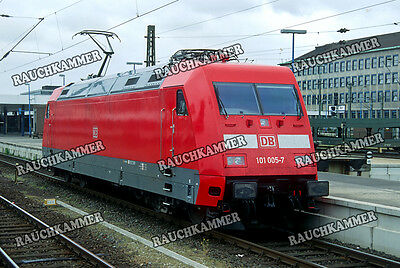 DB 101 005-7  Hannover Hbf 1997 / org. Dia + Datei!  297#20
