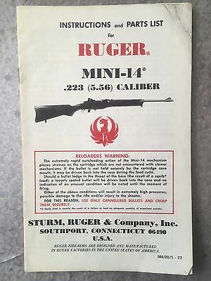 dating ruger mini 14)