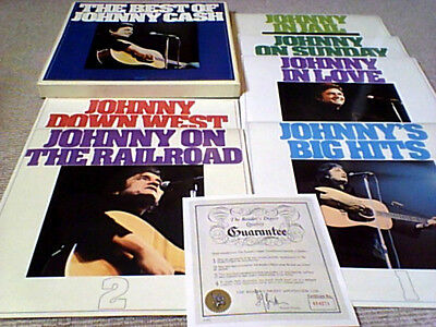 THE BEST OF JOHNNY CASH 1st 6LP UK BOX SET 1973 MINT NEW UNPLAYED