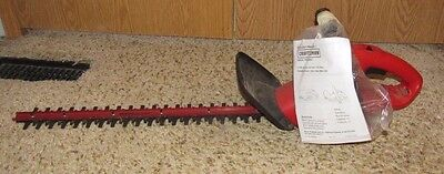 """Craftsman 22"""" 4 amp Electric Hedge Trimmer Cut Bushes Trimmers Lawn"""