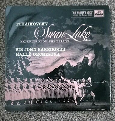 "TCHAIKOVSKY SWAN LAKE - Excerpts from the Ballet Sir John Barbirolli 7"" Single"