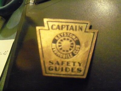 Keystone Automobile  Club Pin Captain Safety Guides