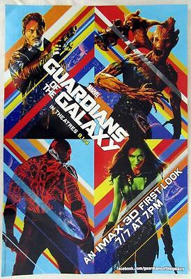 2014 Marvel Guardians Of The Galaxy IMAX 3D Movie First Look 13x19 Mini-Poster