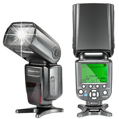 NW982II iTLL *High Speed Sync* LCD Display Speedlite Flash for Nikon DSLR Camera