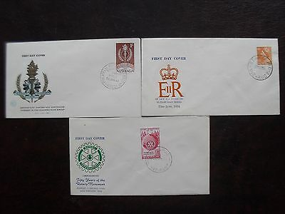 Australian Pre-Decimal First Day Covers  Unaddressed