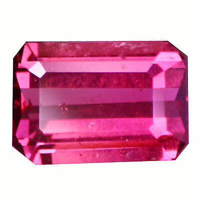 1.08Ct Lovely Octagan Cut 7 x 5 mm 100% Natural AAA Rhodolite