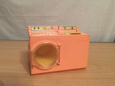 Vintage Plastic Washer Dryer Dollhouse Furniture Playskool