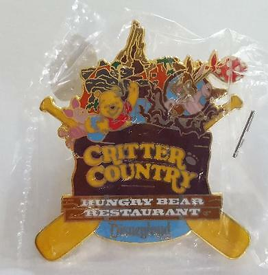 Disney Cast Pin Dlr Pin Of The Month Critter Country Winnie Pooh Piglet Brer New