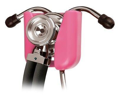 Prestige Medical Stethoscope Hip Clip Holder Pink Professional New Made in USA