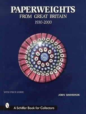 Vintage UK Britain Paperweights Collector Guide w Caithness Whitefriar Others
