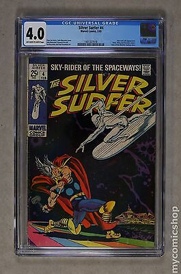 Silver Surfer (1968 1st Series) #4 CGC 4.0 (1401327018)