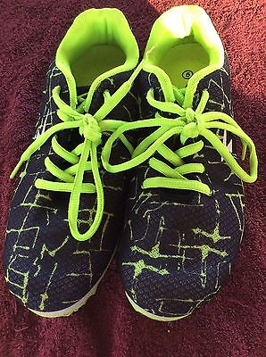 ATHLETIC RUNNING SHOES SPIKED SFIDA size US5 SPRINT SPIKE HYPER LITE NEAR NEW