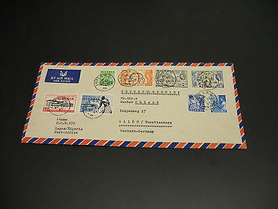 Nigeria 1961 airmail cover to Germany *22009