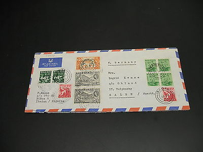 Nigeria 1965 airmail cover to Germany *22011