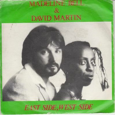 """East Side, West Side/Love Finds A Way To Get Through 7"""" : Madeline Bell"""