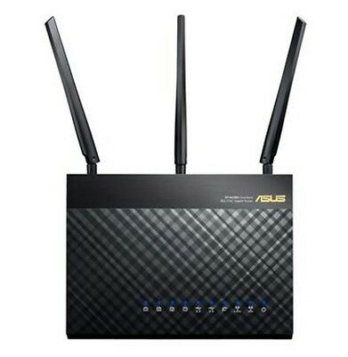 ROUTER ASUS RT-AC68U WIRELESS LAN ETHERNET AC DUAL BAND 1900 Mbps 3G/4G LTE