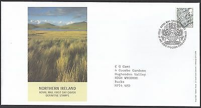 2004  40p NORTHERN IRELAND DEFINITIVES  - WITH INSERT CARD  FDC  (1656)