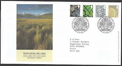 2003  Northern Ireland Definitives  - With Insert Card  Fdc  (1661)