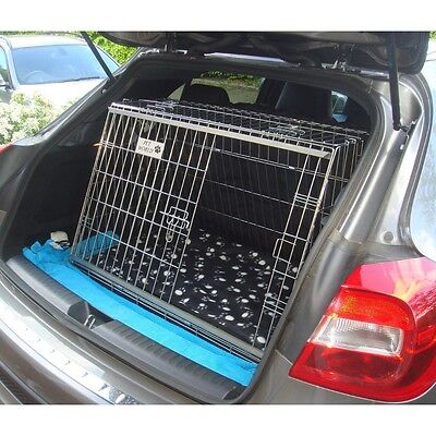 Pet world NEW MERCEDES GLA220 SLOPING CAR DOG CAGE BOOT TRAVEL CRATE PUPPY GUARD