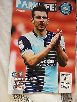 Wycombe Wanderers v Colchester United, 2016-17