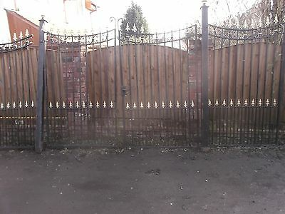 Large Heavy Duty Wrought Iron Gates And Railings