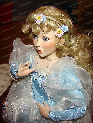 Cinderella at the Ball (Ashton-Drake Galleries by Knowles, 1992) Porcelain Doll