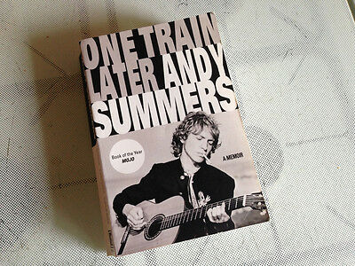 One Train Later - Andy Summers - The Police rock  - Paperback