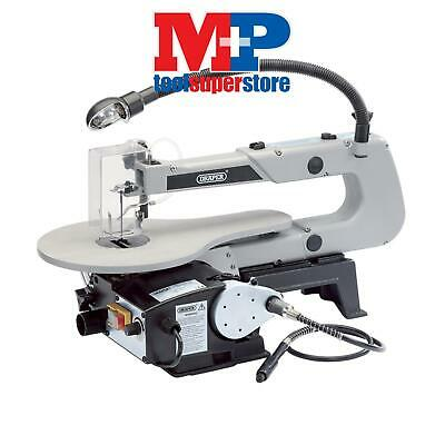 Draper 22791 405mm 90W 230V Variable Speed Fretsaw with Flexible Drive Shaft and