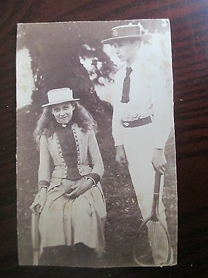 Wimbledon Winning Tennis Family; 'tuckey' Antique Family Photograph Collection