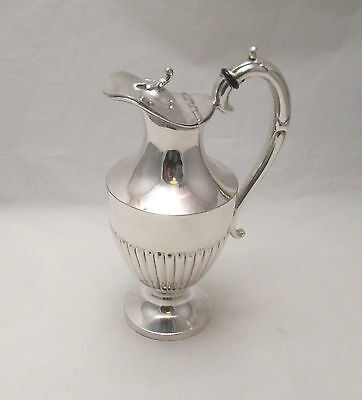 A Fine Silver Plated Wine Pitcher / Ewer - late 19th Century