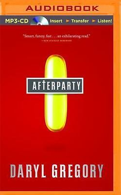 Afterparty by Daryl Gregory (2014, MP3 CD, Unabridged)