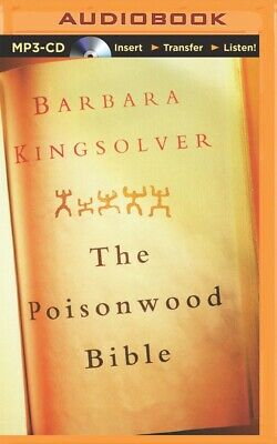 The Poisonwood Bible by Barbara Kingsolver (2014, MP3 CD, Unabridged)