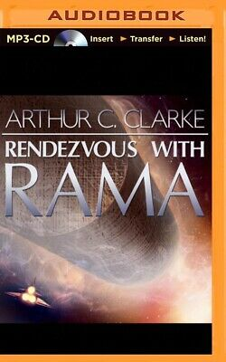 Rendezvous with Rama by Arthur C. Clarke (2014, MP3 CD, Unabridged)