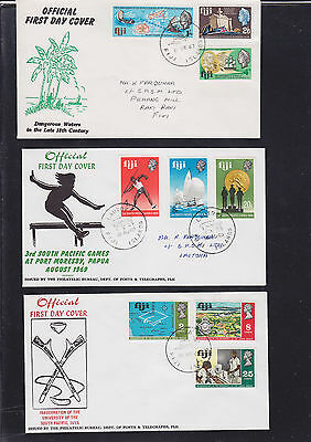047341 Fiji  FDC First Day Cover`s - Lot